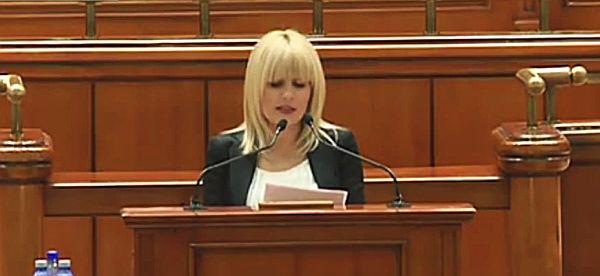 Udrea discurs in Parlament Elena-Udrea.-Discursul-din-Parlament-VIDEO
