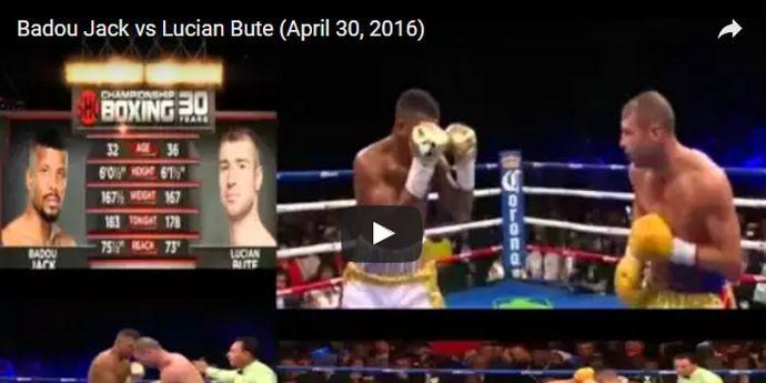 Lucian Bute a fost găsit dopat cu steroizi anabolizanţi VIDEO